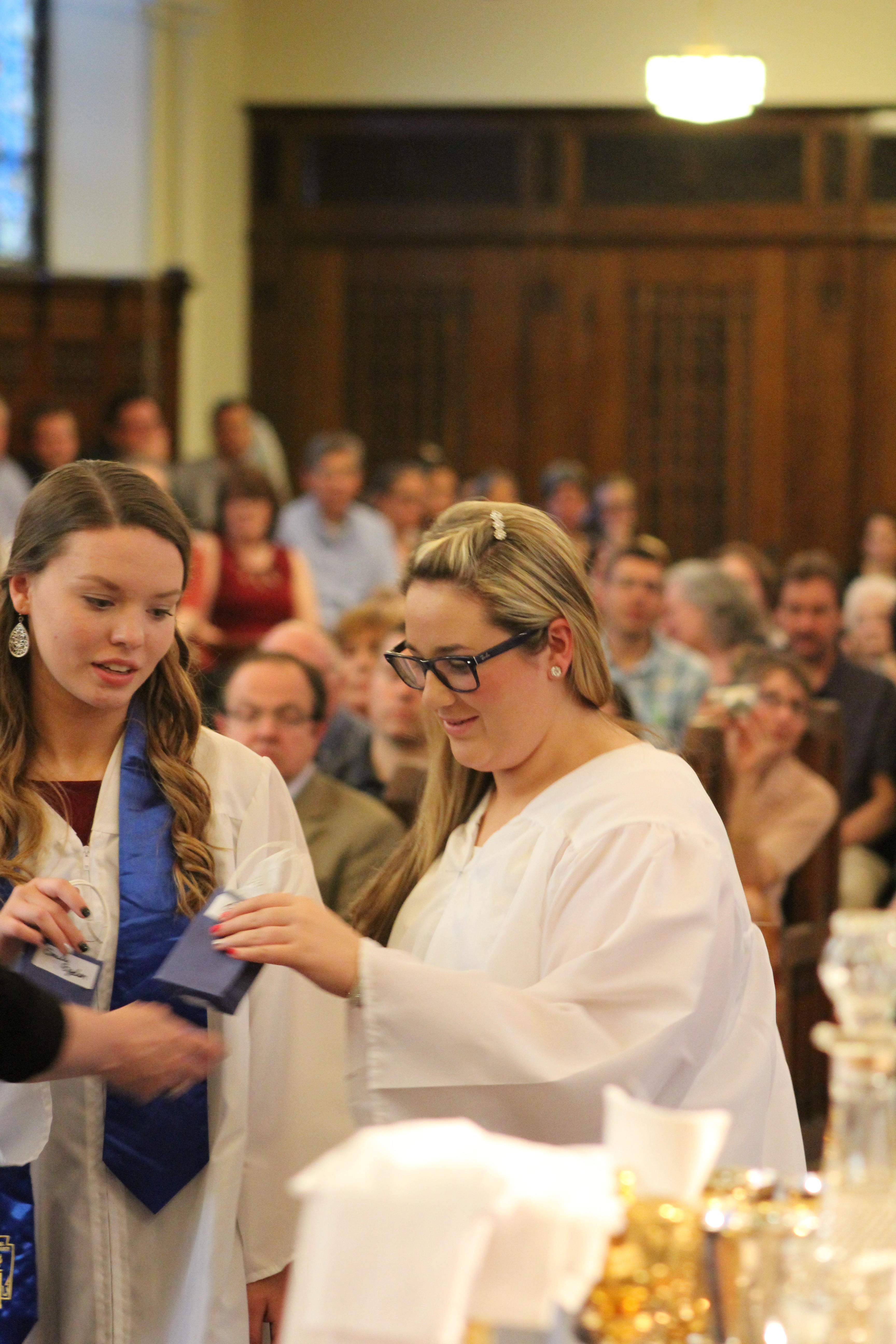 mount mercy academy holds its annual baccalaureate