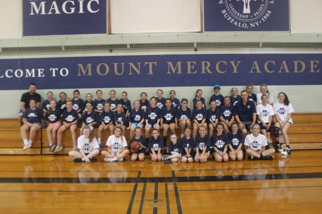 This is the eleventh year for the basketball camp.