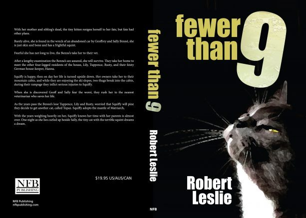 """NFB Publishing announces the release of """"Fewer Than 9"""" by author Robert Leslie."""