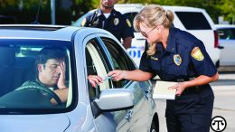 Keeping your car in good repair may keep you from getting a ticket.