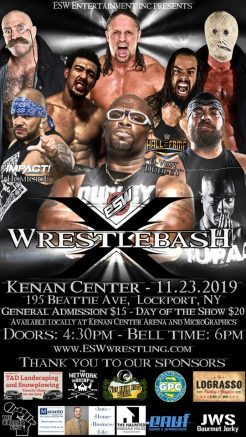 Wrestlebash will feature a video game tournament prior to bell time.
