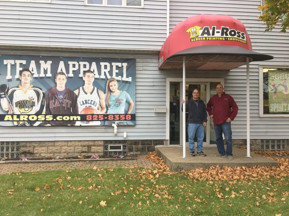 Owners Dave and Joe Cellino outside their West Seneca store.
