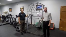 Physical therapists Jeff Kirchmyer, right, and Anthony Goode of ProActive Sports Rehab.