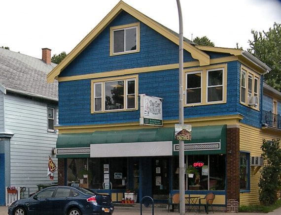 Dog Ears is located at 688 Abbott Road, Buffalo.