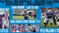 Several current and former members of the Buffalo Bills will visit Playball Ink, a new sports memorabilia store located in the Walden Galleria in Cheektowaga, for an autograph-signing event Saturday, Dec. 7.