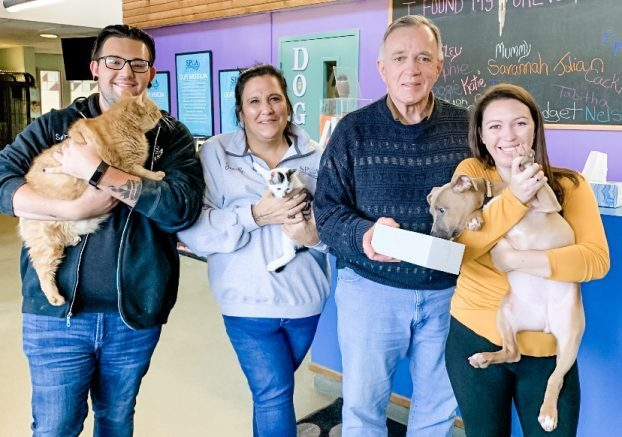 Niagara SPCA has teamed up with Cookie Doodle Dough, a local cookie company.