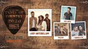WYRK is excited to announce the lineup for the Toyota Taste of Country 2020 — Lady Antebellum, Jake Owen, Midland and Maddie & Tae.