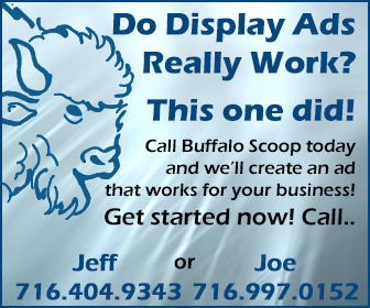 Buffalo scoop Ad