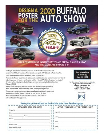 The contest is a fun way for students to showcase their artistic talents in an automotive venue.