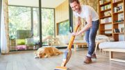 Remove rugs and carpeting from your guest room as wooden or bare floors are easier to clean!
