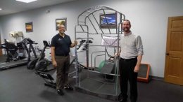 Anthony Goode, left, and Jeffrey Kirchmyer of ProActive Sports Rehab.
