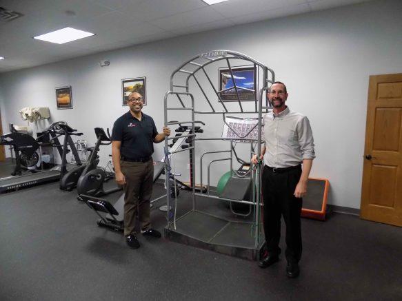 Anthony Goode, left, and Jeffrey Kirchmyer of ProActive Sports Rehab.