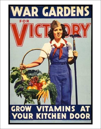 Victory Gardens are making a comeback as Americans fight a new battle with the COVID-19 pandemic.