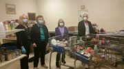 One reason the food pantry has been able to operate for nearly 40 years is the dedication of many volunteers.