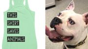 The shirts do exactly what they say because every purchase goes directly to helping homeless and neglected animals.