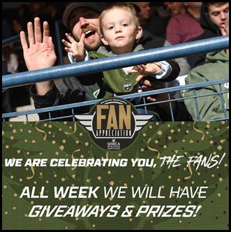 The Knighthawks will be giving away a variety of great prizes.