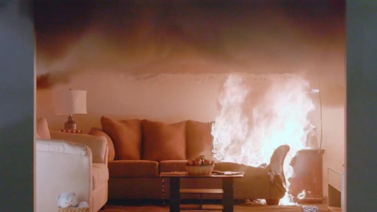 A closed door can be an effective barrier against deadly levels of carbon monoxide, smoke and flames.