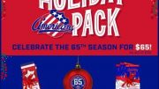The package, which carries an overall value of over $160, is available to Amerks fans at a special holiday price of just $65.