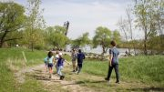 The design of The Riverline will build on the community vision plan. Photo by Abby Songin.