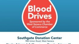 Blood drives will take place from 1 to 5 p.m. Monday, Feb. 1, 8 and 22, and 1 to 6 p.m. Thursday, Feb. 25.