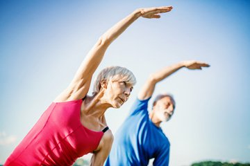 Exercise helps to strengthen your heart muscle, manage your weight, lower bad cholesterol, raise good cholesterol, and control high blood pressure.
