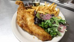 """Starting Wednesday, Feb. 17, Exit 2 will bring back the """"best fish fry in town"""" with fish served every day, dine-in or takeout!"""
