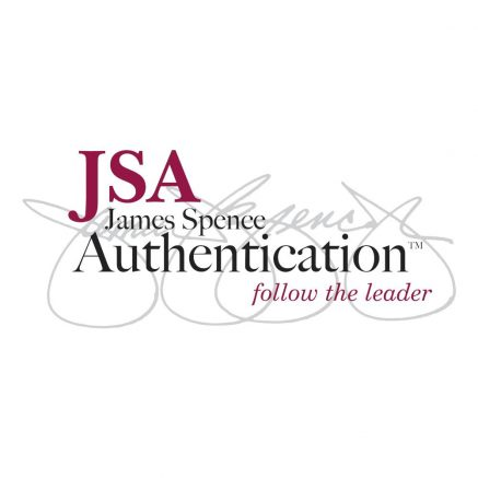 Founded in 2005 by world renowned autograph authenticator James Spence Jr., JSA is now considered the foremost autograph company in the world.