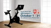 All ConnectLife donors in October will be entered into a raffle to win a Peloton bike!